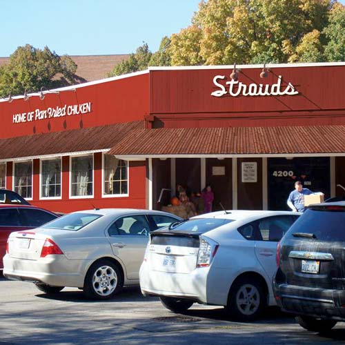 Strouds Restaurant The Home Of Pan Fried Chicken